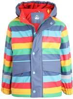 Frugi PUDDLE BUSTER Waterproof jacket rainbow puddle