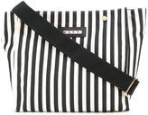 Marni striped shopper tote