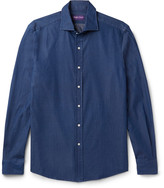 Ralph Lauren Purple Label - Slim-fit Cotton-twill Shirt