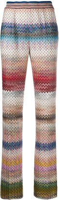 Missoni Patterned Zigzag Trousers