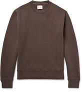 Steven Alan - Fleece-back Cotton-jersey Sweatshirt