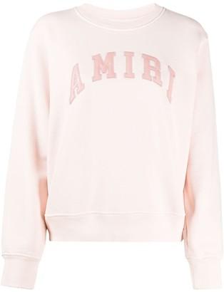 Amiri Logo Patch Sweatshirt