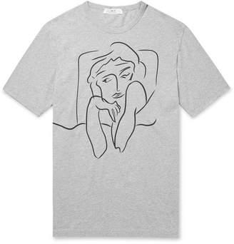Melange Home Mr P. Mr Porter Health In Mind Printed Cotton-Jersey T-Shirt