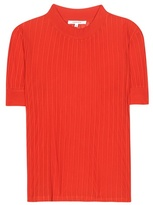 Carven Ribbed-knit Top
