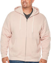 THE FOUNDRY SUPPLY CO. The Foundry Big & Tall Supply Co. Long Sleeve Fleece Hoodie-Big and Tall