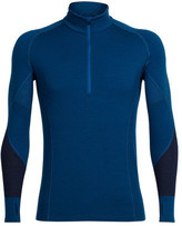 Icebreaker Men's Winter Zone Long Sleeve Half Zip Baselayer