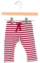 Petit Bateau Girls' Striped Leggings
