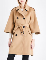 Burberry Dennington wool and cashmere-blend coat
