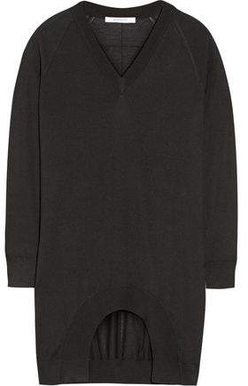Givenchy Cashmere Wool And Silk-Blend Sweater