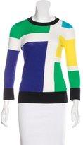 Kate Spade Colorblock Crew Neck Sweater