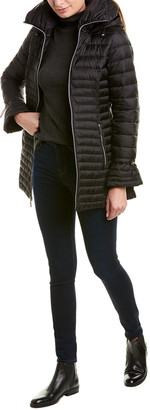 Laundry by Shelli Segal Lightweight Puffer Coat