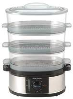 Morphy Richards 48755 3 Tier Stainless Steel Steamer