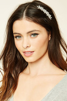Forever 21 FOREVER 21+ Floral Rhinestone Hair Comb