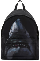 Givenchy Black Urban Shark Backpack