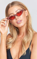 MUMU Crap Eyewear ~ The Ultra Jungle Sunglasses ~ Leopard