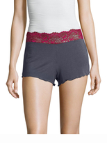 Samantha Chang Lace Waist Shortie