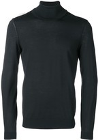 BOSS Turtle-Neck Fitted Jumper