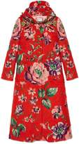 Gucci Floral brushed mohair coat