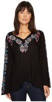 Scully Amanda Embroidered Tunic Women's Blouse