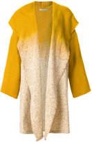 Dusan ombré open front coat