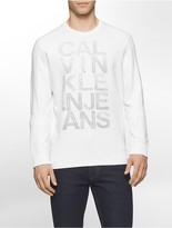 Calvin Klein Mesh Logo Sweatshirt