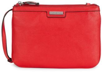 Calvin Klein Farra Faux Leather Crossbody Bag