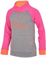 adidas Colorblocked Logo Sweatshirt, Big Girls