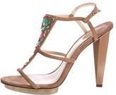 Brian Atwood Donosa Jewel Embellished Sandals