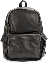 Ann Demeulemeester classic backpack - men - Cotton/Leather/Polyester - One Size