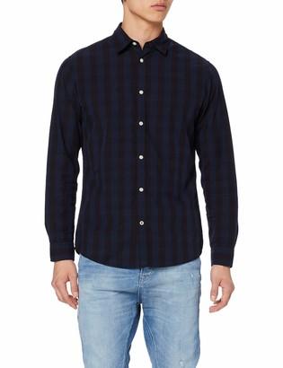 Jack and Jones Men's Jjegingham Shirt L/s Noos Casual