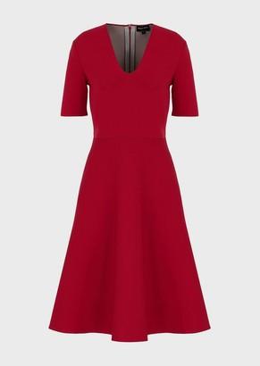 Giorgio Armani Flared, Knit Dress