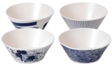 Royal Doulton Pacific Outdoor Living Collection Melamine 4-Pc. Cereal Bowl Set