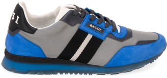Bally Men's Astfeld Colorblock Trainspotting-Stripe Sneakers