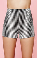 KENDALL + KYLIE Kendall & Kylie Gingham Print High Rise Shorts