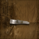 Denim & Supply Ralph Lauren Foil Snake-Print Belt