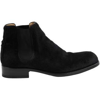 Jean-Baptiste Rautureau Jean Baptiste Rautureau Black Pony-style calfskin Boots