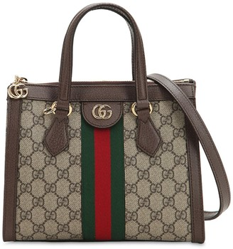 Gucci SMALL OPHIDIA GG SUPREME TOP HANDLE BAG