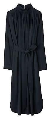 Tibi Women's Speckled Jacquard Tiered Back Dress