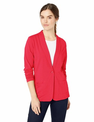 D And Jones D & Jones Women's DEJN-DP462W Shawl Collar Cardigan