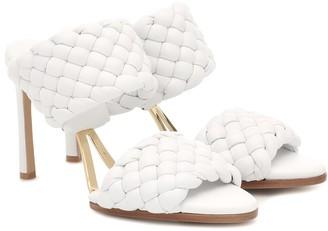 Bottega Veneta Curve leather sandals