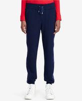 Lauren Ralph Lauren Tuxedo Jogger Pants