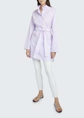 The Row Manuela Tie-Waist Shirtdress