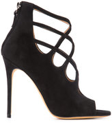 Alexa Wagner cross-strapped sandals - women - Leather/Suede - 36