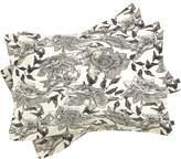 Deny Designs Summertime Natural Pillowcases (Set of 2)