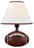 Lite Source Pass Me 1 Light Table Lamp - Football