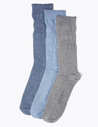 Marks and Spencer 3 Pack Gentle Grip Socks