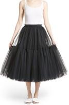 Women's Molly Goddard Gathered Tulle Skirt