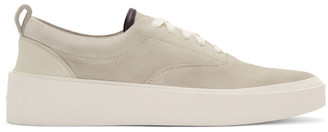 Fear Of God Grey Suede 101 Lace-Up Sneakers