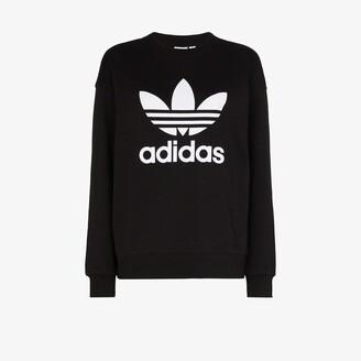 adidas Trefoil Logo Cotton Sweatshirt