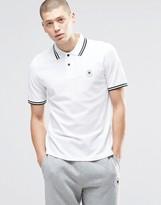 Converse Chuck Polo Shirt In White 10003129-a01